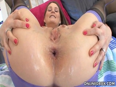 Big Titty Redhead Gets Assfucked!