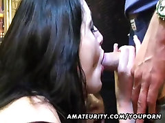 2 naughty amateur Milf suck cocks with facial cumshots