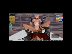 Lightning final fantasy XIII 3D hentai porn