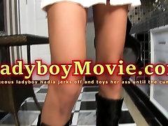 Sexy Ladyboy Police Officer Nadia