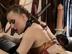Beautiful ebony immigrant is disgraced in BDSM session