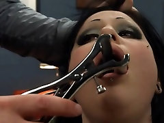 BDSM hardcore action with ropes and extreme penetrate
