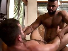 Hairy bear has anal sex