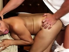 Luxury breasty babes in secret massage saloon