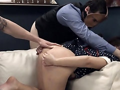 lovely BDSM anal action in gangbang