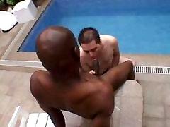 HARD BLACK cock LONG deep FUCK chubby YOUNG ass
