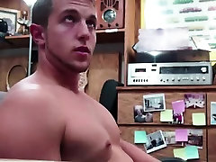 Gay blowjob for straight dude for cash on camera