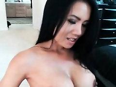 Asian milf fingering pussy webcam