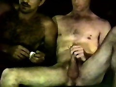 Horny mature straight bear sucks buddy