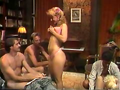 Hot retro group sex action with Nina Hartley