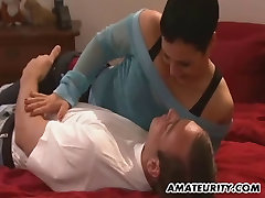 Amateur girl with tattoos anal fuck with facial cumshot