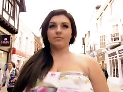 British Girl With Huge Tits On TV Part 1