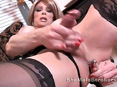 Jasmine Jewels Shemale with Milk Lactating Big Tits Anal But