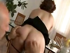 Mature with hot hangers in all holes