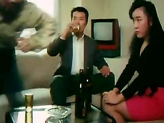 Unknown Asian Pink Movie Threesome erotic scenes MFM