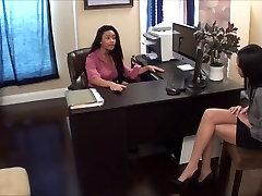 lesbian boss humiliate slave girl