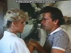 Amber Lynn, John Leslie in amazing retro sex video with John
