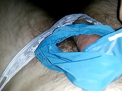 Jerking off in and with panties