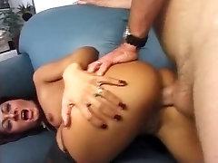 Sandra Romain Black Stockings Sex